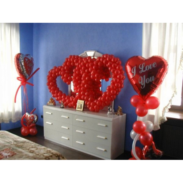 Оформление на День Святого Валентина