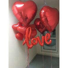 """Букет шаров """"Love"""""""