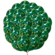 Облако камуфляжных шариков