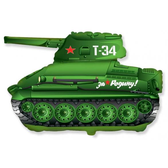 Шар из фольги танк Т-34