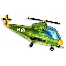 Вертолет зеленый 97 см