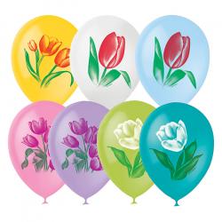 """Облако из шаров """"тюльпаны"""""""