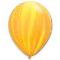 Супер Агат Yellow orange 28 см