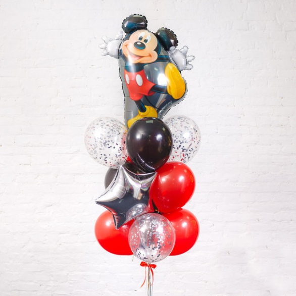 Набор шаров Микки Маус