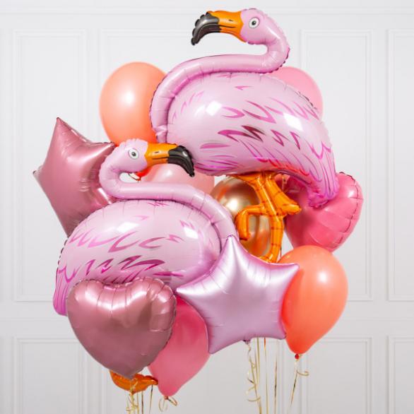 Набор шаров Фламинго