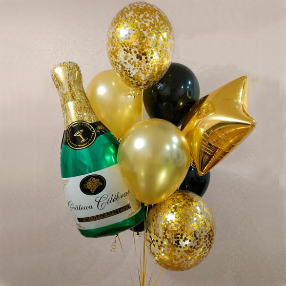 """Набор шаров """"Всем шампанского!"""""""