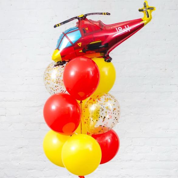Набор шаров вертолет