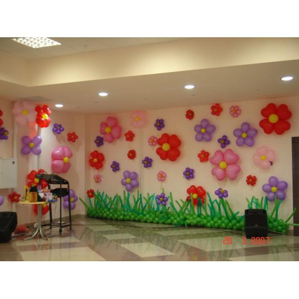 Оформление зала в детском саду