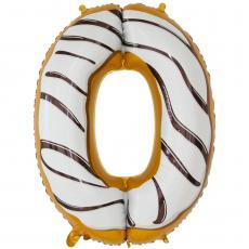 Шар цифра 0 пончик 86 см