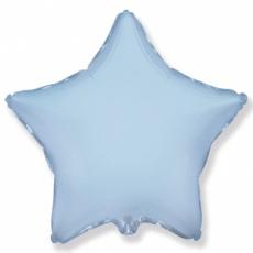 Шар звезда голубая 45 см