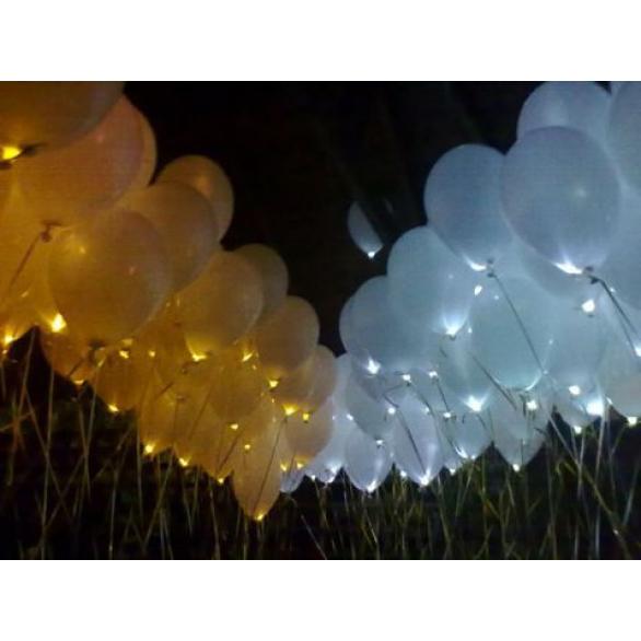 Светящиеся шары для запуска 200 шт.