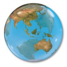 BUBBLE 55 см Планета Земля