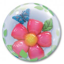 BUBBLE ИНСАЙДЕР Цветок и Бабочка 61 см