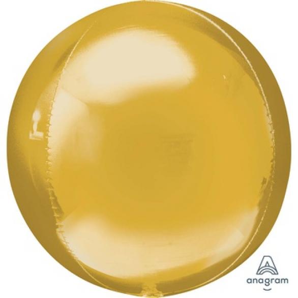 СФЕРА 53см металлик золотой