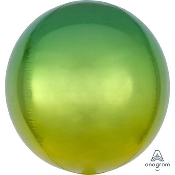 СФЕРА 41см Омбре Желто-зеленый