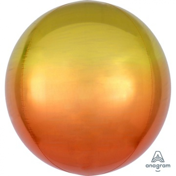 СФЕРА 41см Омбре Желто-оранжевый