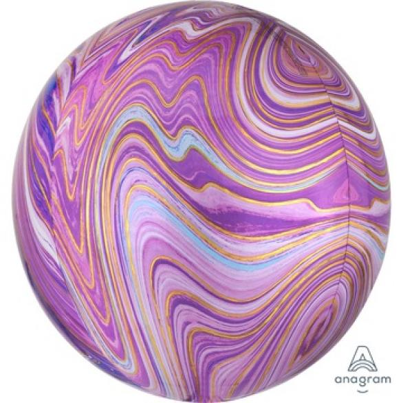 СФЕРА 41см Мрамор Purple