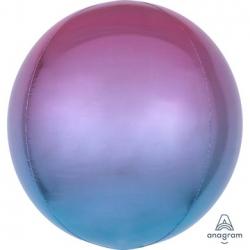 СФЕРА 41см Омбре Фиолетово-голубой