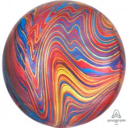 СФЕРА 41см Мрамор разноцветный