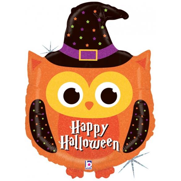 Воздушный шар Сова, Волшебница на Хэллоуин