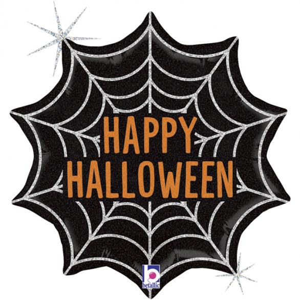 Воздушный шар Паутинка на Хэллоуин