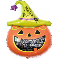 Фигура, Тыква на Хэллоуин в колпаке, 89 см
