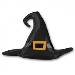 Фигура Шляпа ведьмы черная, 99 см