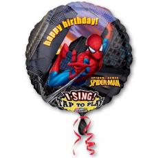 Человек-паук 70 см. Поющий шар.