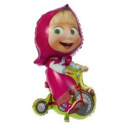 """Фигура Маша на велосипеде 39""""/99см"""