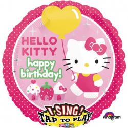 Поющий шар Hello kitty 71 см