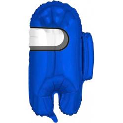 Шар (26''/66 см) Фигура, Космонавтик, Синий