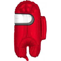 Шар (26''/66 см) Фигура, Космонавтик, Красный