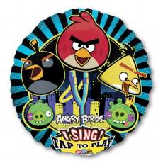Музыкальный шар Angry Birds 71 см