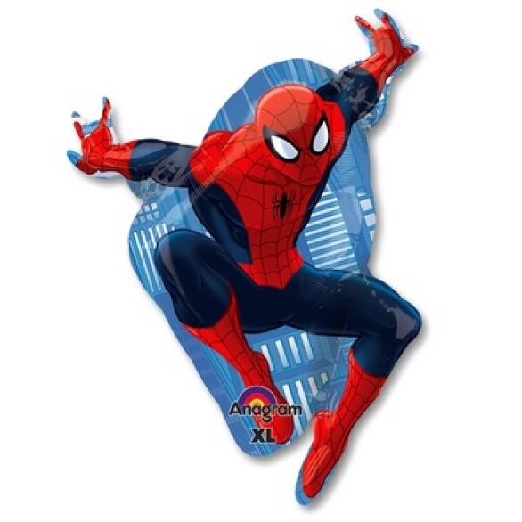 Воздушный шар Человек-паук в прыжке