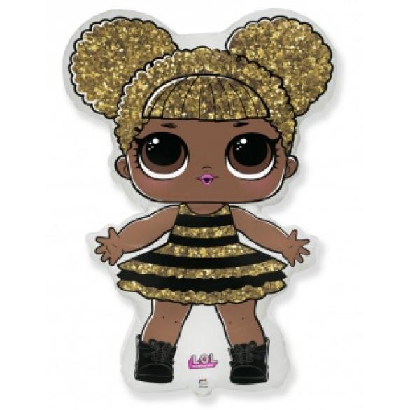 Воздушный шар фигура кукла ЛОЛ (LOL), Сияющая Королева
