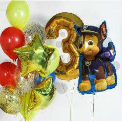 """Сет из воздушных шаров """"Щенячий патруль 3"""""""