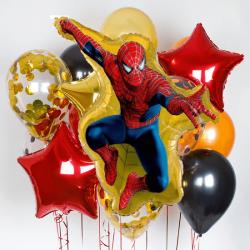 """Набор шаров """"Человек паук"""""""