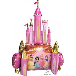 Ходячая Фигура, Сказочный Замок, Принцессы Диснея, Розовый, 137 см