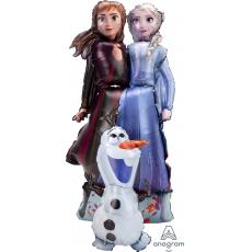 Ходячая Фигура, Холодное сердце, Принцессы и Олаф, 147 см