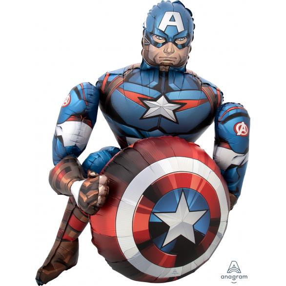 Ходячая Фигура, Мстители, Капитан Америка