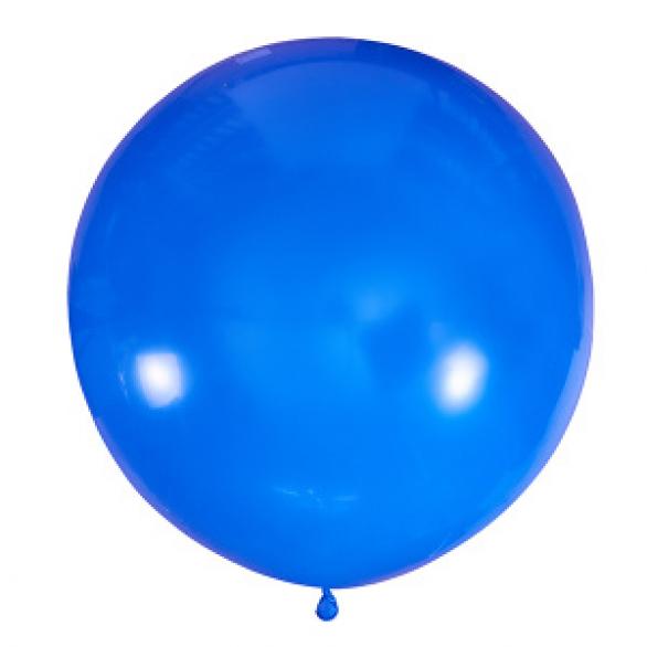 """Воздушный шар 36""""/91см Пастель BLUE"""