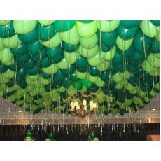 Шары под потолок зеленый, салатовый