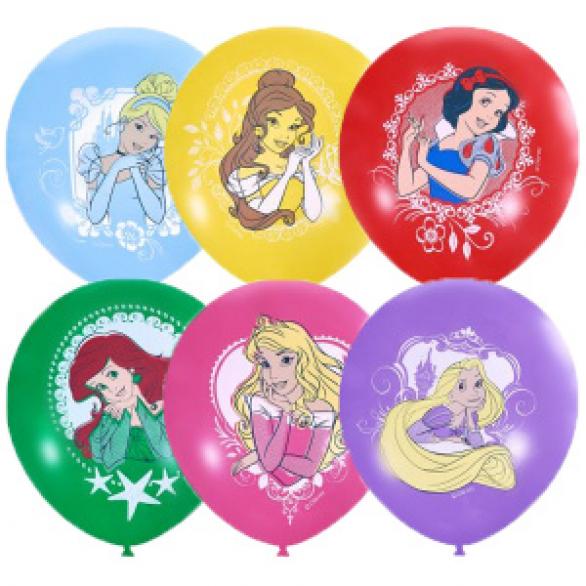 """Облако из шаров """"Принцессы"""""""