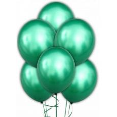 Облако из шаров хром зеленый