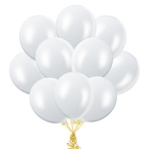 """Облако из шаров """"Белые"""""""