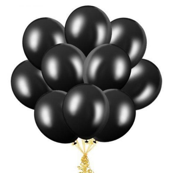 """Облако из шаров """"Черные"""""""
