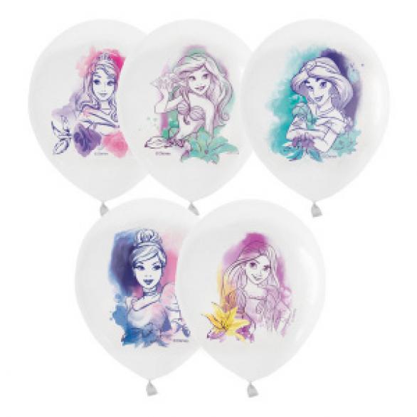"""Облако из шаров """"Дисней, принцессы акварель"""""""