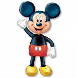 Ходячая фигура Микки Маус