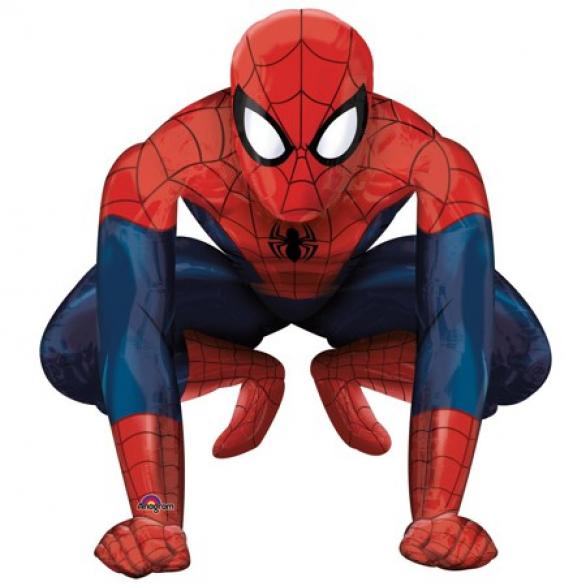 Ходячий шар «Человек-паук»