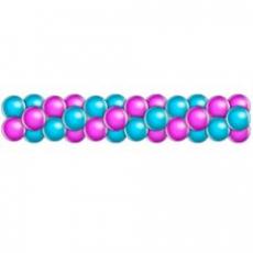 Гирлянда из шаров 2 цвета